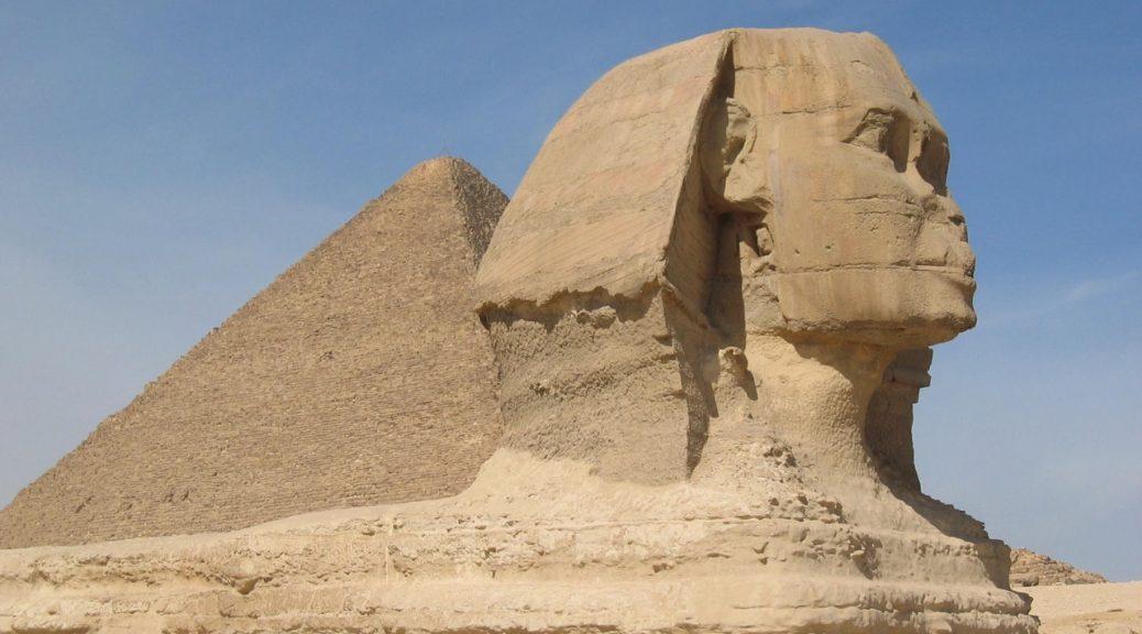 Sfinks Egipt