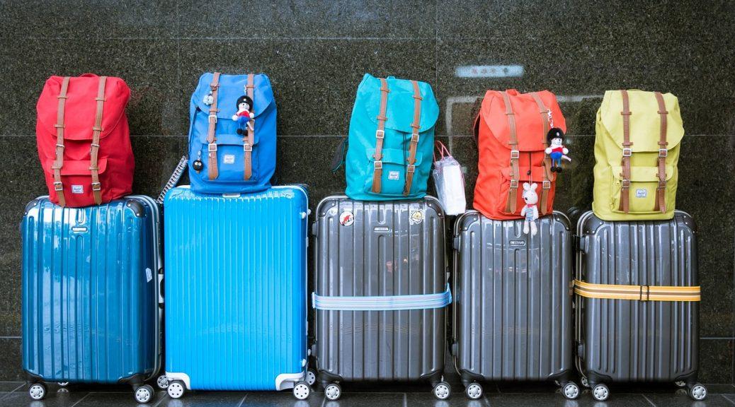 dużo bagaży