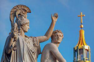Pomnik w grecji
