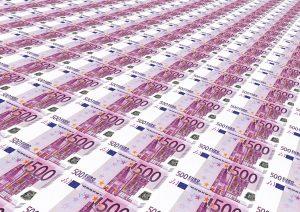 pieniądze na hiszpanie
